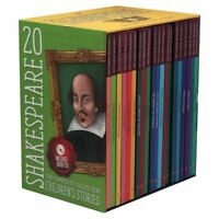 NEW Shakespeare Stories 20 Books Classic Children's Collection Kids Set with CDs