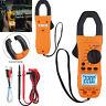 Digital Clamp Meter Tester Handheld TRMS AC/DC Auto Range Multimeter Resistance