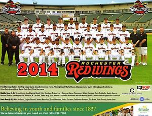 2014 AAA SGA Rochester Red Wings team photo picture rookie rookies