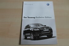 97889) VW Touareg Exclusive Edition - Preise & Extras - Prospekt 06/2006