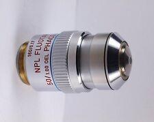 Leitz NPL Fluotar 50x Oil Phaco 2 RK - Reflection Kontrast Microscope Objective
