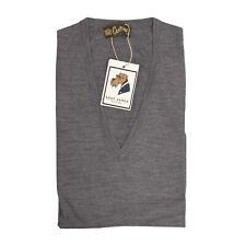 Coxmoore of England P.C. Leschka Pullunder Sweater Vest Gr XL Wolle Wool Grey
