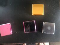 Apple iPod Nano 6th Generation 8GB & 16GB - Used - Tested - All Colors  pink