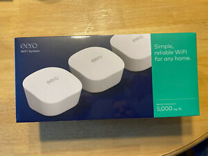 eero mesh (3rd Generation) Wi-Fi Router/Extender - Pack of 3 - BRAND NEW