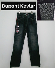"""Sartso Womens Motorcycle Jeans Size 26""""W 32""""L Illusion Relaxed Fit Kevlar Denim"""
