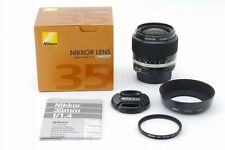 """Top Mint"" Nikon Ai-s NIKKOR 35mm F/1.4 MF Lens Free Shipping From Japan B71"