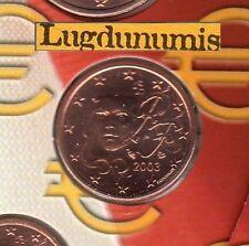 France - 2003 - 2 Centimes D'euro FDC Scéllée provenant coffret BU 109 407 ex