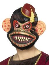 HALLOWEEN ZOMBIE TOY MONKEY MASK CIRCUS HORROR PARTY FANCY DRESS ACCESSORY