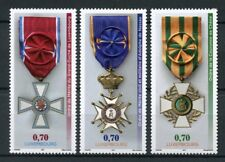 Luxembourg 2017 MNH 3 National Orders of Merit 3v Set Emblems Medals Stamps