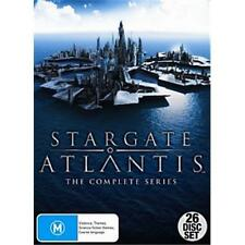 Stargate Atlantis Complete Season 1, 2, 3, 4 & 5 DVD Box Set R4 New Sealed