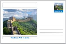 "Landmarks - souvenir postcard (glossy 6""x4""card) - The Great Wall of China"