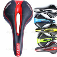Bicycle Bike Cycle MTB Saddle Road Mountain Sports Soft Cushion Gel Pad Seat UK