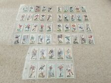 More details for john player & and sons - footballers 1928 cigarette cards full set of 50 sports