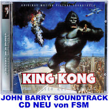 King Kong (1976) - John Barry - Soundtrack CD von FSM - NEU