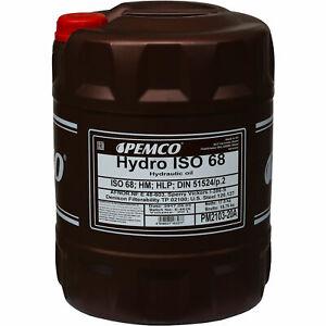 20 Liter Original PEMCO Hydrauliköl ISO 68 Hydro HLP 68 Oil