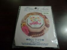 True Colors Ribbon Embroidery Kit Box Tops Daisy Bouquet #4173