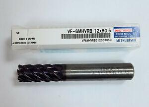 Mitsubishi Solid Carbide Cutter D 0 15/32in - VF6MHVRBD1200R050