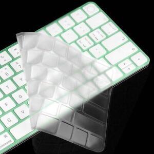 Transparent TPU Keyboard Cover Protector For iMac 24 Magic 2021 Keyboard UK H9F9