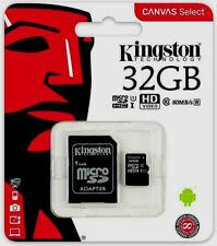 New KINGSTON 32GB Micro SD SDHC Memory Card Class 10 32GB SD Card Adapter