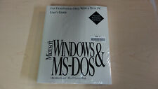 "New Sealed - Microsoft Windows 3.1 & MS-DOS Operating System (3.5"" floppies)"