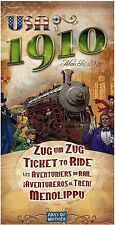 Days of Wonder: Ticket to Ride USA 1910 Expansion (New)