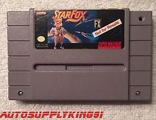 NOT FOR RESALE NFR Starfox SNES Super Nintendo Store Kiosk Demo Cartridge Rare