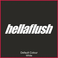 Hellaflush Decals x2, Car, Vinyl, Sticker, JDM VW VAG EURO, DRIFT, N2166