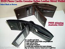 Pierre Cardin Italian Leather Mens Wallet (pc8781)