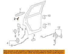 GM OEM Lock -Rear Door-Handle, Outside Rod Left 15831547