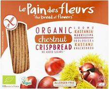 Le Pain Des/Fl Organic & Gf Chestnut Flour Crispbread 150g (Pack of 6)