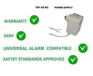 16V AC 1500MA POWER Power Supply 16 V AC 16 VOLT 1.5 Amp 1500 MA AUS 240V
