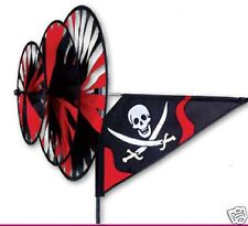 Jolly Roger Triple StakedWind Spinner with Pole and Ground Mount Premier 27124