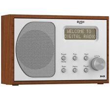 Bush Wooden Mono DAB/FM Radio DAB1207