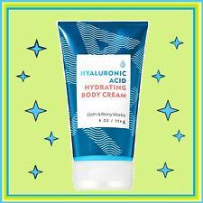 Bath & Body Works WATER Hyaluronic Acid Hydrating Body Cream 8 Oz/ 226 g