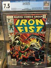 Iron Fist #15 cgc 7.5 may 1977