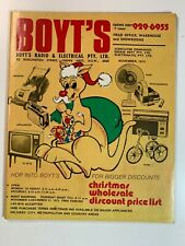 Vintage Catalogue Sydney - Boyt's Radio & Electrical PTY LTD November 1972