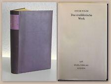 Oscar Wilde Das erzählerische Werk 1976 Bibliophile Ausgabe Weltliteratur xz
