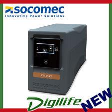 Socomec NeTYS PE 850Va/480W Line interactive UPS with AVR - Automatic Voltage