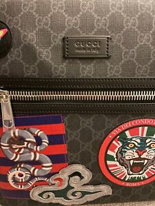 Gucci Night Courier GG Supreme Messenger NEW / UNUSED