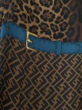 Genuine Authentic Ladies Fendi Silk Scarf