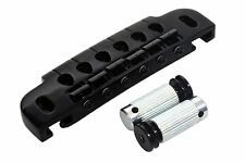 GOTOH 510UB 510 Guitar Wraparound Bridge and Tailpiece wrap around Black