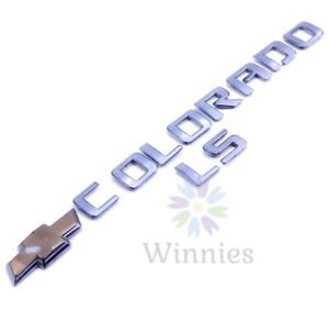 04 05 06 07 08 Chevy Colorado Sport LS Tailgate Emblem Logo Badge OEM Letters