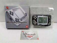 WS -- Wonder Swan Console Skeleton Black -- Box. WonderSwan, JAPAN GAME. 24831