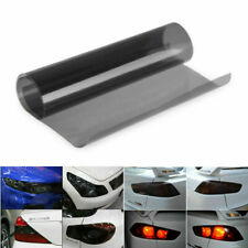Film teinté phare sticker NOIR-CLAIR pour lampe de brouillard voiture 30*200CM