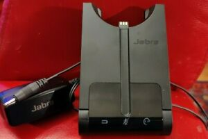 Jabra PRO 920 WHB003BS Mono Wireless Headset Base and charger