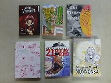 manga 6 Libro Comic lote CHIBI Vampiro Seven Magi YOTSUBA & ! tokopop GA