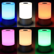 LED Tischlampe Dimmbar USB Leselampe Tisch-Leuchte RGB Touch Schreibtisch-Lampe