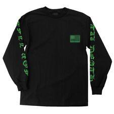 Creature United We Lurk Long Sleeve Skateboard Shirt Black Large