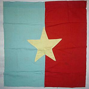 FLAG - Original - Viet Cong - NLF - VC - Rare House Banner - Vietnam War - 7285