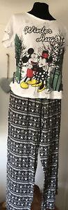 Disney Christmas Pyjamas Size 14/16